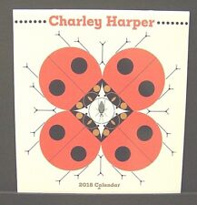 Charles/Charley Harper New 2018 Large Wall Calendar