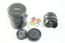 Exc Sigma Fish Eye 16mm f/2.8 Filtermatic Lens Multi-Coated for Nikon F #2747