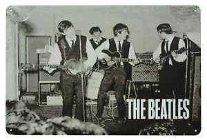 The Beatles CAVERN CLUB  Metal Wall Sign Steel Plaque Bar Gift (20cm x 30cm)