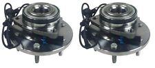 PAIR 2 NEW Front Wheel Hub & Bearing Assemblies fit 06-10 Hummer H3 w/ABS 515093