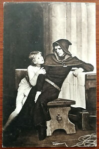 W. F. Yeames, R. A. Prince Arthur and Hubert (Manchester Art Gallery). Post Card