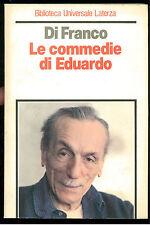 DI FRANCO FIORENZA LE COMMEDIE DI EDUARDO LATERZA 1984 UNIVERSALE 125