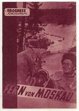 Filmprogramm: Fern von Moskau, Nr. 14163/51