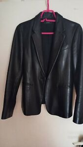 JOSEPH leather blazer jacket