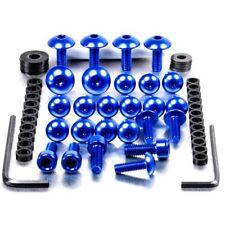 Pro-Bolt Aluminium Fairing Bolt Kit - Blue FYA015B Yamaha TZR50 03-04