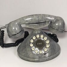 Mybelle Chic 373 Retro Style Telephone Push Button *RARE COLOUR* - Working