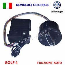 Devioluci cromato + SENSORE  VW GOLF 4 IV PASSAT POLO LUPO AUDI deviatore luci