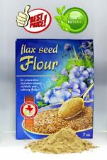 Flax seed flour for the of protein-vitamin cocktails and culinary dishes 7.05 oz