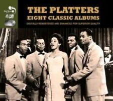 The Platters - Eight Classic Albums 4cd Set