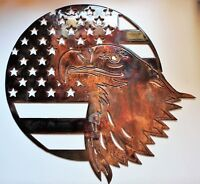 """Home of the Free because of the Brave Eagle  15"""" x 16"""""""