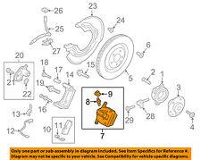 PORSCHE OEM 15-17 Macan-Disc Brake Caliper 95B615424C
