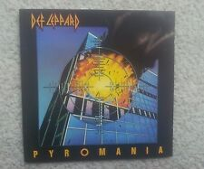 DEF LEPPARD PYROMANIA FRENCH / GERMAN COLLECTORS EDITION CD FIRST PRESS ! RARE !