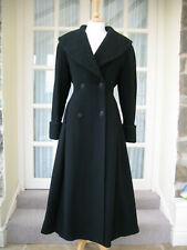Vintage Laura Ashley Riding Coat UK 10 EU 36 US 8 Double Breasted