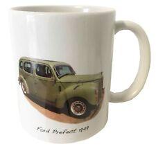 Ford Prefect 1172cc 1949 Ceramic Mug - A Nostalgic Present.