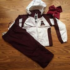 CHEER PRACTICE HALLOWEEN COSTUME ALABAMA ROLL TIDE TRACK SUIT 3T CHEER BOW