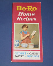 Be-Ro Home Recipes Baking/Cookbook. Twenty-Fourth/24th million/edition (c. 1961)