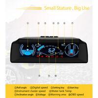 X90 Smart OBD Inclinomètre Altimètre Boussole 4x4 Numérique