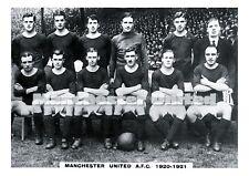 GODFREY PHILLIPS-pinnace Football A3 Art Imprimé-Manchester United-Team
