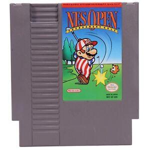 NES Open Tournament Golf -- NES Nintendo Original Classic Authentic Game TESTED