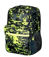 80d7f5774d Under Armour HOF Boy Athletic BACKPACK 1256655 NWT gray green 15 X11 X 3