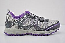 Womens Merrell Trail Hace Running Shoes Size 7 Grey Purple Black J196098C Grey