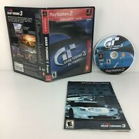 Gran Turismo 3 A-spec (Greatest Hits) - Playstation 2 PS2 Game Complete & Tested