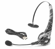 Datel Combat Command Wireless Black/White Ear-hook Headsets