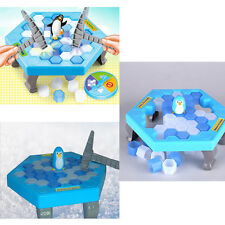 Save the Penguin on Ice Game Break Ice Block Hammer Penguin Trap Party Supply ~
