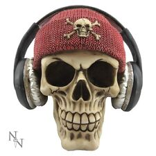 New Dead Beat Red Black Skull Head Gifts Gothic Figure Ornament Art Figurine