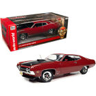 1970 Ford Torino Cobra Red with Black Hood Class of 1970 1/18 Diecast Model C...