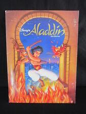 Disney Aladdin Press Kit Photos Slides Folder Robin Williams Genie