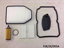 Filters Service KIT for Jeep Wrangler JK 3.6L 2014-2016 W5A580  FSK/JK/005A