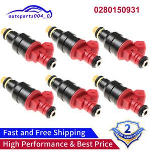 OEM Bosch Fuel Injectors Set (6) 0280150931 for 93-97 Ford Mazda 4.0L V6