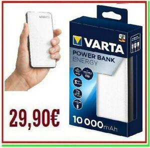 power bank VARTA 10000mAh carica batteria esterna portatile powerbank
