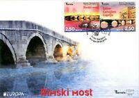 BOSNIA & HERZEGOVINA / 2018, EUROPA CEPT (BRIDGES), (FDC) MNH