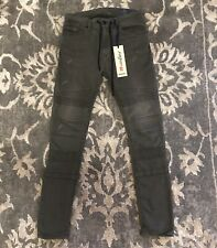 Diesel Bakari-NE Sweat Jeans Grey Mens Sz 28 Jogg Jeans Stretch Slim Fit $298