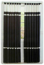 100% Cotton Unlined Panel Window Curtains