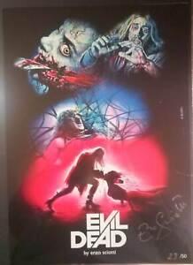 EVIL DEAD ENZO SCIOTTI 42x30 print Signed