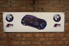 BMW Z3M  large pvc 1 WORK SHOP BANNER garage  SHOW BANNER very rare