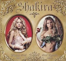 Shakira-Oral Firation vol 1 +2 2 cd album box with extra DVD