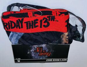 Mens 2pk Boxer Briefs  Friday The 13th Size Medium