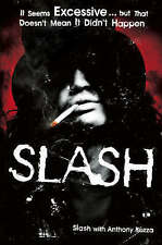 """VERY GOOD"" Slash: The Autobiography, Slash, Book"