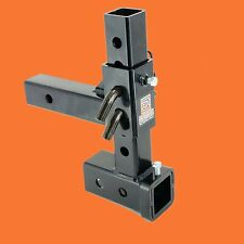 """RUGGED - ADJUSTABLE HITCHES BALL MOUNT DROP / RISE TRAILER TOW HITCH 2"""" RECEIVER"""