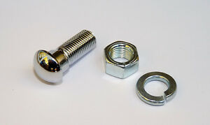 Chrome Bumper Bolts for MGA and Austin Healey Frogeye Sprite Mk1, MG part 1G9872