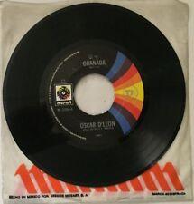 """OSCAR D'LEON GRANADA / EL SON DE ADALBERTO MEXICAN 7"""" SINGLE CS SALSA"""