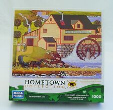 """FROM THE HOMETOWN COLLECTION 1000pc PUZZLE """"OLD CIDER MILL""""  by HERONIM 2013"""