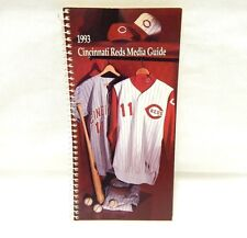 1993 Cincinnati Reds Media Guide Spiral Bound