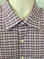 PETER MILLAR, MUTI COLOR,BUTTON FRONT, L, LONG SLEEVE NICE