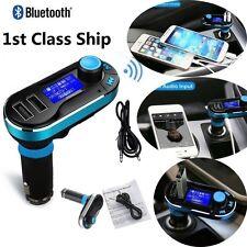 Car Kit MP3 Music Player Wireless Bluetooth FM Transmitter Radio With USB Ports
