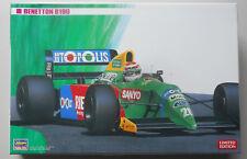 Benetton B190 Formula 1 One 1:24 Scale Hasegawa Model Kit